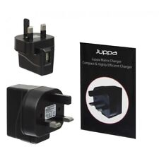 High Quality Black Universal USB Mains UK Wall Plug Charger Apple Samsung Mobile