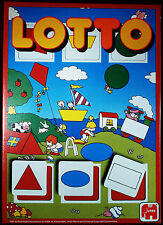 LOTTO Bingo Vintage Game by Hausemann Jumbo #345  - NEW Factory Sealed
