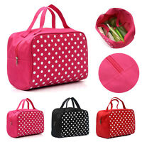 Portable Entrancing Multifunction Travel Cosmetic Bag Makeup Toiletry Case Pouch