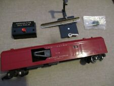 American Flyer 718 New Haven Operating Mail Car With Post Track Trip + Button