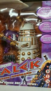 Classic Doctor Who imperial white Dalek Radio Remote Control Limited edition