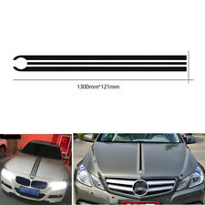 Car Hood Stripes Lines Decals Engine Cover Vinyl Stickers For BMW Mercedes Benz