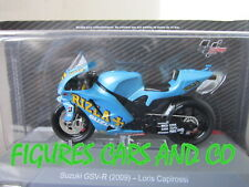 MOTO GP 1/18 SUZUKI GSV-R 2009 LORIS CAPIROSSI COLLECTION ALTAYA