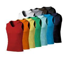 New mens sleeveless hoodie T-shirt hooded tank top cotton hoodies tee S M L XL