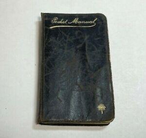 Antique Vintage 1896 Pocket Manual - The Catholic Pocket Prayer Book