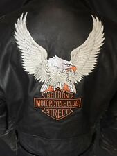 "Vintage Mens ""Havana Black"" Leather Jacket"