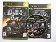 Star Wars: Republic Commando (Microsoft Xbox, 2005) Complete w/ Manual
