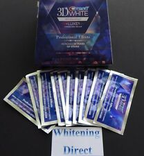 20 CREST 3D LUXE PROFESSIONAL EFFECTS TEETH WHITENING WHITESTRIPS WHITE