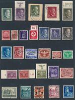 Lot Stamp Germany Poland Latvia WWII Hitler Krakaw Feldpost Warsaw U