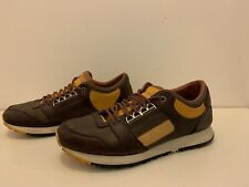 Alexander Mcqueen/Puma Leather Sneakers Mens size 9 1/2 UK