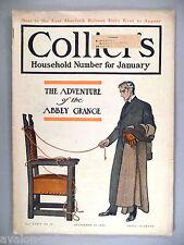 "Collier's Magazine - December 31, 1904 ~~ Sherlock Holmes ~~~ ""Abbey Grange"""