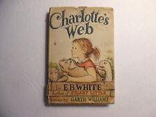 Charlotte's Web by E.B. White HC/DJ 1952 1st Edition I-B
