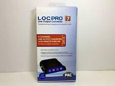Pac Lp7-4 L.O.C. Pro Line Output Converter Adjustable Car Audio Four (4) Channel