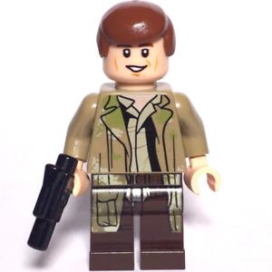 LEGO Star Wars Minifigure Han Solo Endor & Blaster 75094 **New**
