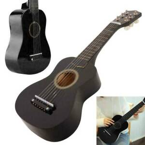 """NEW CHILDREN'S KIDS WOODEN ACOUSTIC GUITAR 21"""" MUSICAL INSTRUMENT CHILD TOY"""