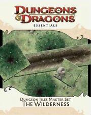DUNGEON TILES MASTER SET - THE WILDERNESS - WIZARDS RPG TEAM (COR) - NEW HARDCOV
