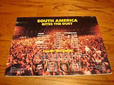 Queen 1981 ad for 'South America Bites The Dust' Freddie Mercury & Kim Carnes