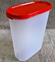 Tupperware - M.M.OVAL (RED seal) Multi-utility Dry Storage containers,TWO Sizes
