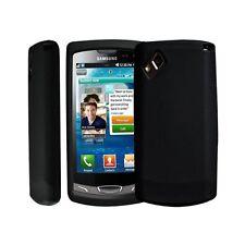 housse étui coque en silicone noir pour Samsung Wave 2 s8530
