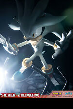 FIRST 4 FIGURES Sonic: Silver the Hedgehog Statue Figure NEW SEALED