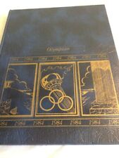 Olympian 1984 Bassett High School La Puente California High School Yearbook.