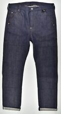 G-STAR RAW, Faeroes Straight RL, 14 oz Denim, 50er Ans Look Jeans w34 l34 NEUF!
