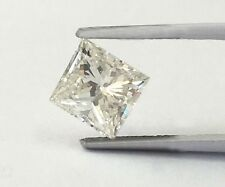 .28-.30 Carat Loose Square Princess Cut Natural Diamond SI2 H 3.75 x 3.74 x 2.50