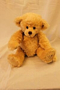"""Gund Collectors Artist Teddy Bear Mohair Jointed """"My Name is Bradley"""""""