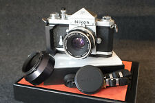 "Nikon F Prisma Logo ""Nippon Kogaku"" Nikkor-S  50mm F2"