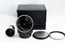 Contax Biogon 21mm F2.8 T* G Lens For G2 Wide Angle AF w/Case Caps finder #0214