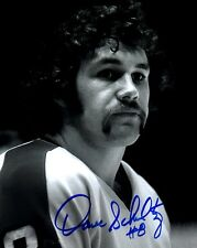 Dave Schultz autographed signed NHL Philadelpjia Flyers 8x10 photo