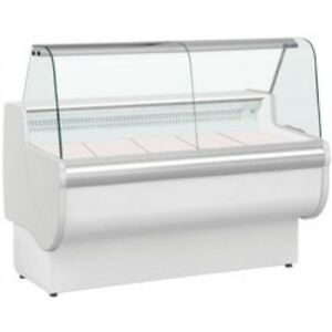 Rota 170 - Temperature- Slimline Curved Glass Serve Over Counter 1710Wx830Dmm