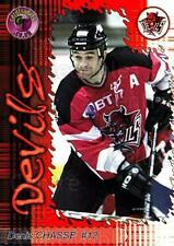 2001-02 UK British Elite Cardiff Devils #7 Denis Chasse