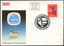Austria 1983 Simposio sobre marcapasos Fdc Primer Día cubierta #c 18047