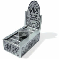 Rips Plata Xtra Thin Regular Papel de Liar Cigarrillos en un Rollo 5