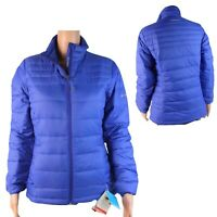 Columbia Turbodown 590TD women's jacket omni heat size XS blue zipper (F-3)