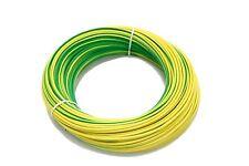 flexible Aderleitung PVC Aderleitung Litze H07V-K 6 mm², 25 Meter, grün/gelb