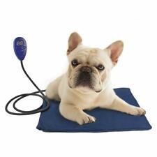 Cat Dog Heating Pad Indoor Waterproof Safety Electric Pet Mat Chew Resistant