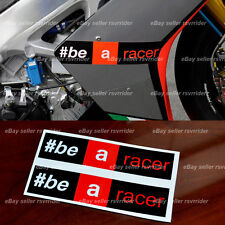 "aprilia racing "" be a racer "" decal sticker fits all rsv4 and other models"