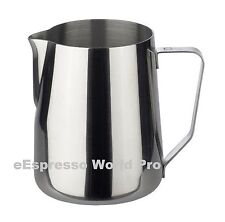Top Quality stainless Milk Pitcher Jug Barista cappuccino late art 0.35l 12oz