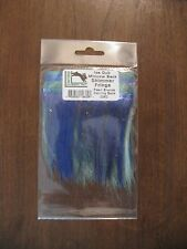 Fly Tying Hareline Ice Dub Minnow Shimmer Fringe - Pearl Bronze Herring Back