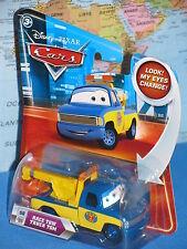 DISNEY PIXAR CARS RACE TOW TRUCK TOM #56 LOOK MY EYES CHANGE *BRAND NEW & RARE*