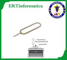 SPILLO GRAFFETTA RIMUOVI SIM CASSETTO SPORTELLINO SIM CARD IPHONE SAMSUNG HUAWEI