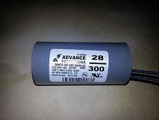 Philips Advance Dry Capacitor 28uf 300V 7C280P30RA - Brand New, Free Shipping