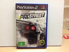 PLAYSTATION 2 PS2 NEED FOR SPEED - PRO STREET - LIKE NEW !!!