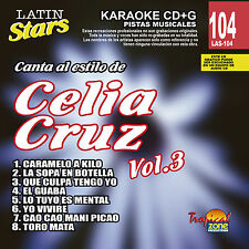 Karaoke Latin Stars 104 Celia Cruz Vol. 3