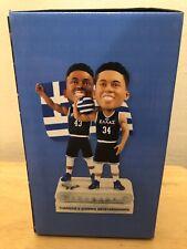 Giannis & Thanasis Antetokounmpo Milwaukee Bucks Greek Night Bobblehead NIB NBA