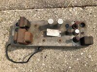 Antique 1940s Wurlitzer Pre-Amplifier Model 6120 from Tube Organ Mono Amplifier