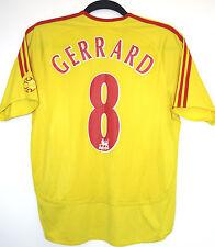 GERRARD 8 Liverpool FC 32-34 2006/2007 football Away Shirt Large boys/Small mens