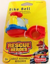 Fisher Price Rescue Heroes Bike Bell Year 2002